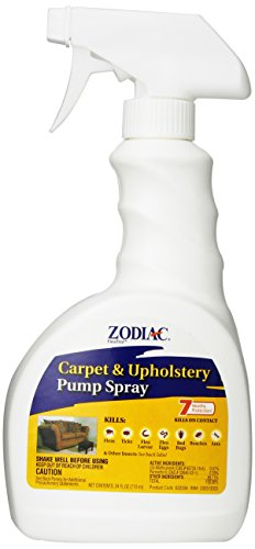 Zodiac Carpet & Upholstery Pump Spray, 24-ounce (Flea Carpet Spray compare prices)