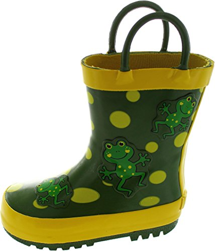 Be Only Dalmatina, Stivali bambini verde Green, verde (Green), 25