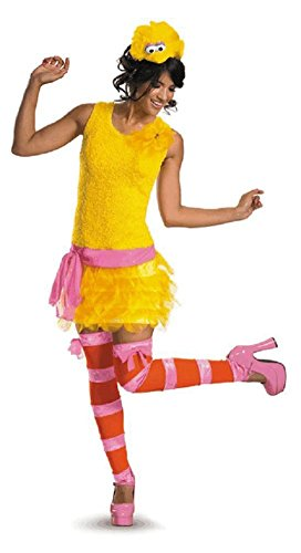 Disguise DI11469-S Womens Sassy Sesame Street Big Bird Costume Size Small