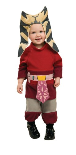 Star Wars Clone Wars Romper And Headpiece Ahsoka, Ahsoka, 6-12 Months