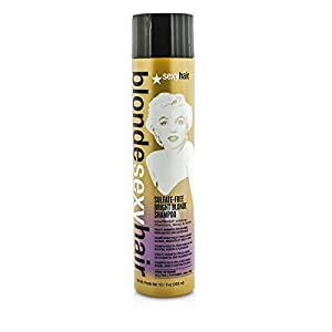 Sexy Hair Blonde Sulfate-Free Bright Violet Shampoo, 10.1 Ounce