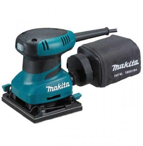 Makita BO4556 240V Palm Sander Plus Clamp