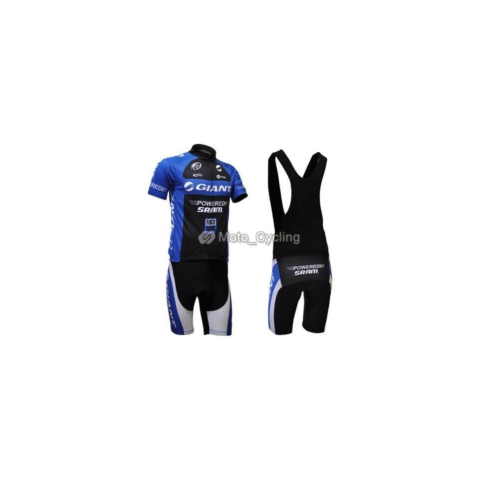 2011 new giant team cycling jersey+bib shorts bike sets clothes sizes xxxl   whole retail   98b83fd59