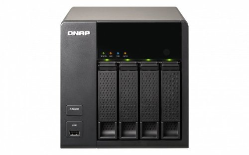 QNAP TS-469L (Diskless) 4 Bay All-in-One Desktop iSCSI/IP-SAN NAS Storage Combo Solution for Server Virtualization... Black Friday & Cyber Monday 2014