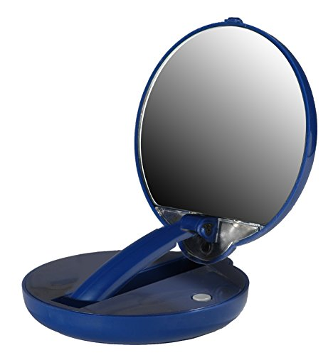 mirror mate lighted adjustable compact 15x magnification. Black Bedroom Furniture Sets. Home Design Ideas