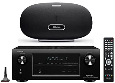 Denon AVR-X3000 7.2-Channel Network Home Theater Receiver with FREE Denon DSD500BK Cocoon Streaming iPod Dock/Speaker (Black) from Denon