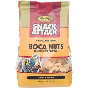 Cheap Higgins Snack Attack Boca Nuts Premium Nut & Fruit Mix for Parrots & Macaws (B001LDE1TQ)