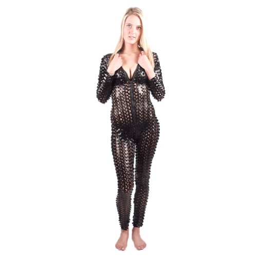 I-glam Women's Gothic Rihanna Celebrity Punching Catsuit