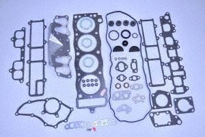 ITM Engine Components 09-11624 Cylinder Head Gasket Set (1985-1995 Toyota 2.4L L4, 22R/22RE/22REC, 4Runner, Celica, Pickup) (Toyota 22re Distributor compare prices)