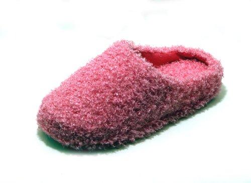 Cheap Luckers Women's Scruffy Slippers, Pink (B008LYO2W4)
