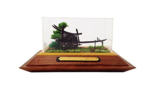Small Vintage Wooden Cart Home Decor front-507992