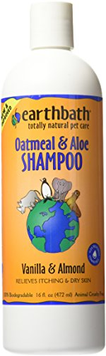 Earthbath All Natural Dog Shampoo, Oatmeal & Aloe, 16 oz