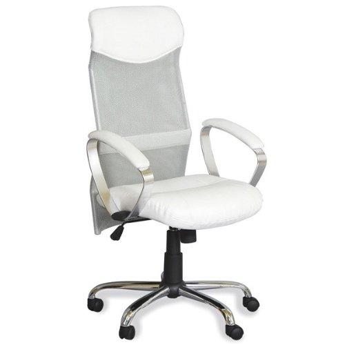 Fauteuil de bureau etoile blanc chaises et canap s - Fauteuil bureau blanc ...