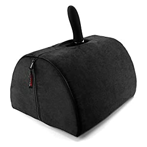 Liberator BonBon Sex Toy Mount with Microsuede Cover, Black