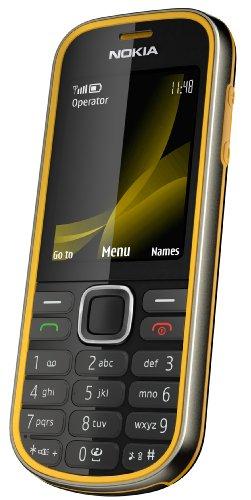 Nokia 3720 classic Handy (Outdoor, Bluetooth, E-Mail, Ovi, Kamera mit 2 MP) yellow