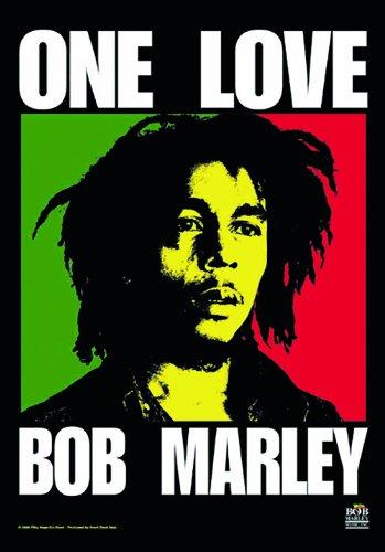 LPGI Bob Marley One Love Fabric Poster, 30 by 40-Inch