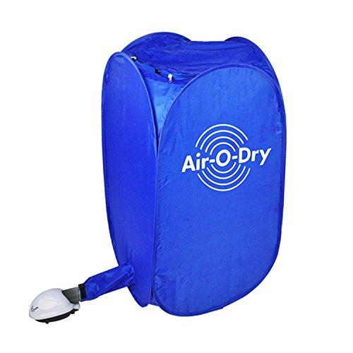 Signstek Sèche-linge Portable et Pliant, Machine Chauffage de Vêtement (Bleu)