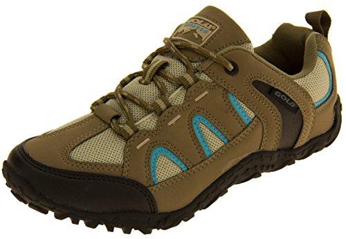 Womens Gola Taupe Hiking, Walking, Trekking Shoes 7 B(M) US