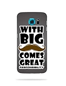 alDivo Premium Quality Printed Mobile Back Cover For Samsung Galaxy S6 / Samsung Galaxy S6 Printed Cover (MKD313)