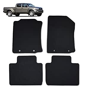 custom fit floor mat sets for toyota tacoma. Black Bedroom Furniture Sets. Home Design Ideas