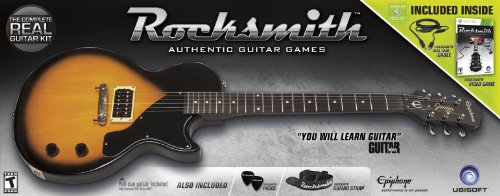 Rocksmith Guitar Bundle for Guitar and Bass - Xbox 360