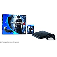 Sony PlayStation 4 Slim 500GB Console Uncharted 4 A Thief's End + Platinum Wireless Headset for PlayStation 4