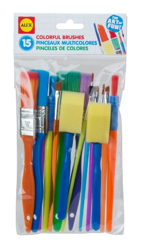 ALEX Toys Artist Studio 15 Colorful Brushes - 1
