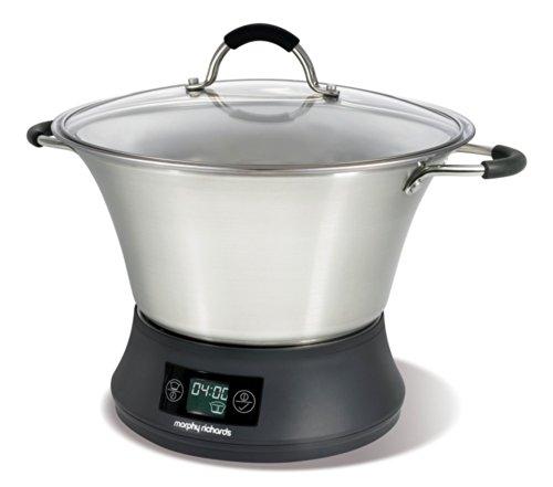 Morphy-Richards-48787-Slow-cooker-Flavour-Savour-65-Liter-Leistung-800-Watt-Fassungsvermgen-50-Liter-max