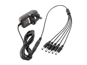 9v multi plug 5 way power supply fits behringer psu sb ibanez ac109 ac309 ac509 replacement. Black Bedroom Furniture Sets. Home Design Ideas