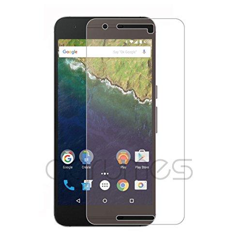 agrumes Google Nexus 6P [日本製ガラス] [真空ぬるぬるコーティング] ガラスフィルム 0.3mm (Nexus 6P)