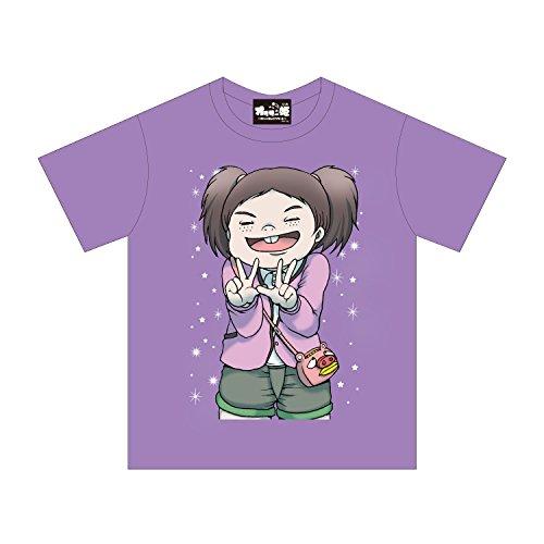 オタサーの姫 姫ちゃんTシャツ (M, パープル)