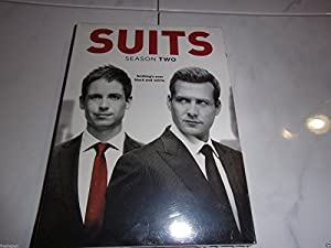 New Suits complete season two show dvd set Smart entertaining classy tv shows
