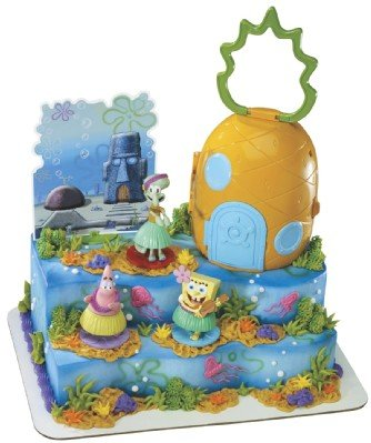 Spongebob Squarepants Luau Signature Cake Set
