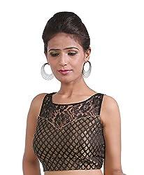 Abida Black Colour Party wear designer blouse