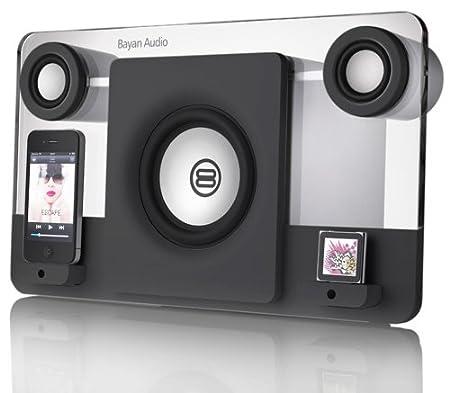 Bayan - Audio 5 - Station d'accueil avec Haut-parleur pour iPod/iPhone - Noir