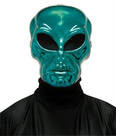 Costumes For All Occasions Mr122264 Alien Hockey Green Mask