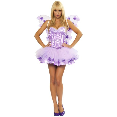 Lavender Fairy Costume - Medium/Large - Dress Size 6-10