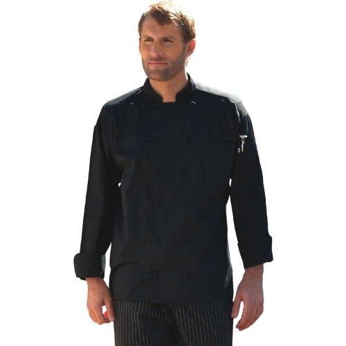Uncommon Threads Barbados Chef Coat in Black – Medium Reviews