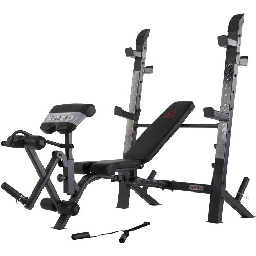 Marcy Diamond Md 8861 Olympic Weight Bench Sports Outdoors