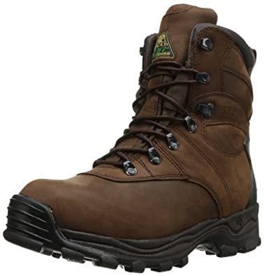 Buy Rocky Mens Sport Utility Eight Inch Brown Hunting Boot by Rocky