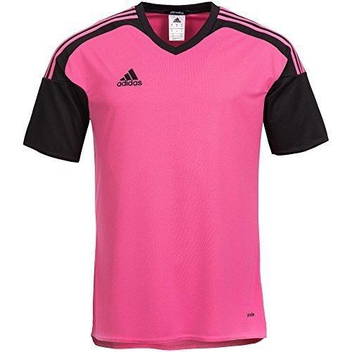 adidas Maglietta Uomo Team13 JSY Maglia Blu Maniche corte quadretti T-Shirt - rosa/nero, L, poliestere