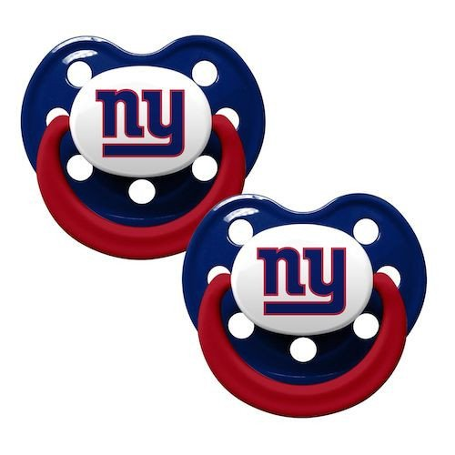 Baby Fanatic Pacifier, New York Giants - 1