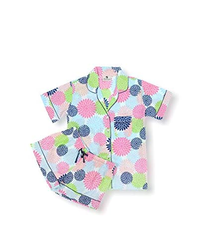 Malabar Bay Floral Pop Summer Pajama Set