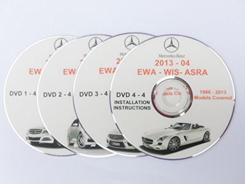 Mercedes Benz Wis Asra Epc 09-2013 Newest Service Repair Manual On 4 Dvd