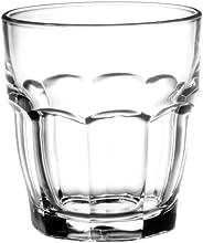 Bormioli Rocco Rock Bar Stackable Rocks Glasses, Set of 6