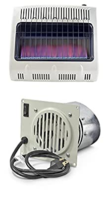 Click to open expanded view Mr. Heater, Corporation Mr. Heater, 30,000 BTU Vent Free Blue Flame Propane Heater, MHVFB30LPT