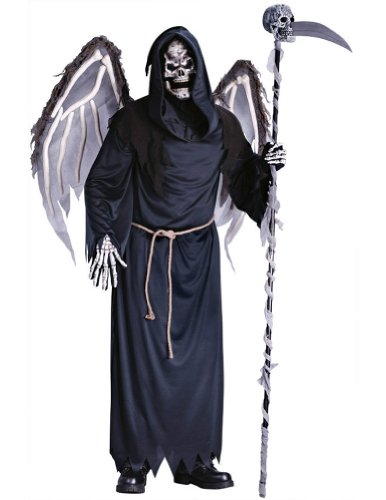 Adult-Costume Winged Reaper Adult Male Halloween Costume - Most Adults