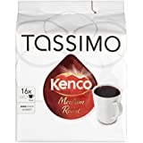 TASSIMO Kenco Medium Roast Coffee 16 T DISCs (Pack of 5, Total 80 T DISCs/pods)