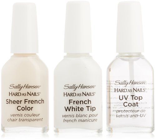 Sally Hansen Hard As Nails French Manicure Set - Sheer Romance - 3 ct (French Manicure Nail Polish Set compare prices)