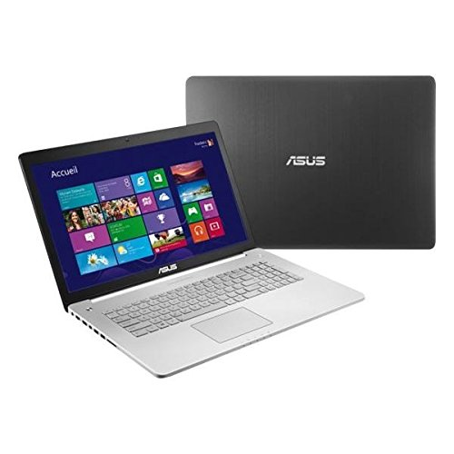 Ordinateur Portable ASUSTEK N750JVT5156H GRIS INTEL CORE I7 4700HQ 2.4GHZ 8GO 1TO WIN8